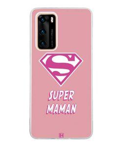 Coque Huawei P40  – Super Maman