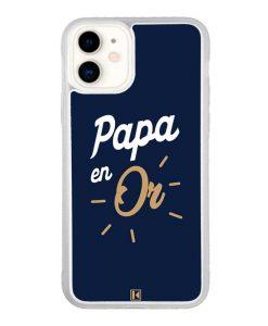 Coque iPhone 11 – Papa en Or