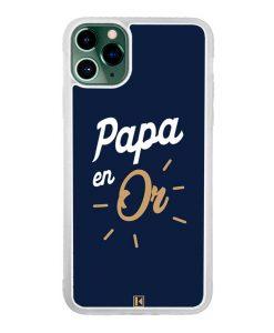 Coque iPhone 11 Pro Max – Papa en Or