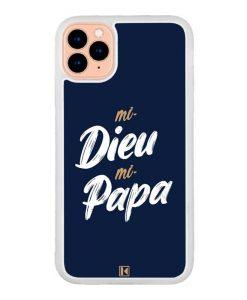 Coque iPhone 11 Pro – Mi Dieu Mi Papa
