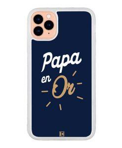 Coque iPhone 11 Pro – Papa en Or