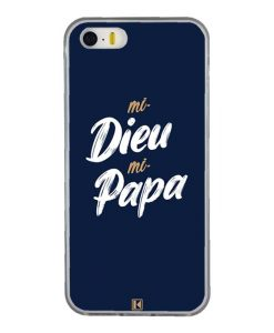 Coque iPhone 5/5s/SE – Mi Dieu Mi Papa