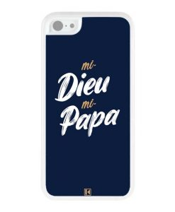 Coque iPhone 5c – Mi Dieu Mi Papa