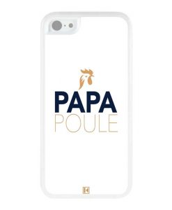 Coque iPhone 5c – Papa Poule