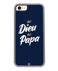 Coque iPhone SE (2020) – Mi Dieu Mi Papa