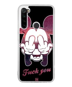 Coque Xiaomi Redmi Note 8 / Redmi Note 8T – Mickey Fuck You