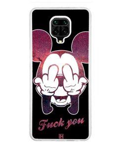 Coque Xiaomi Redmi Note 9 Pro / Note 9 Pro Max – Mickey Fuck You