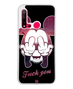 Coque Huawei P20 Lite 2019 – Mickey Fuck You