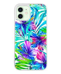 Coque iPhone 12 / 12 Pro – Exotic flowers