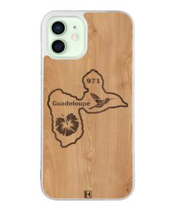 Coque iPhone 12 / 12 Pro – Guadeloupe 971