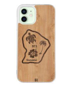Coque iPhone 12 / 12 Pro – Guyane 973