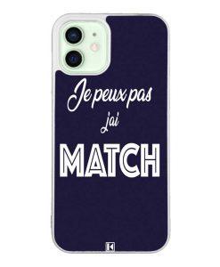 Coque iPhone 12 / 12 Pro – Je peux pas j'ai Match