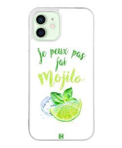 Coque iPhone 12 / 12 Pro – Je peux pas j'ai Mojito
