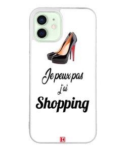Coque iPhone 12 / 12 Pro – Je peux pas j'ai Shopping