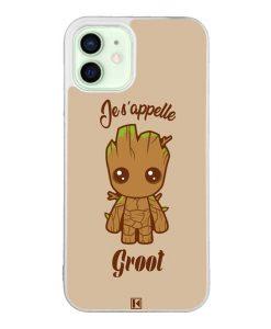 Coque iPhone 12 / 12 Pro – Je s'appelle Groot