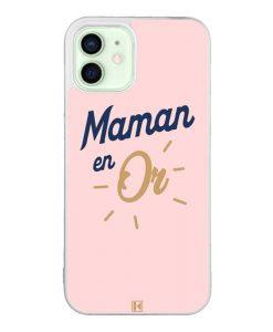 Coque iPhone 12 / 12 Pro – Maman en Or