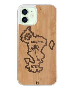 Coque iPhone 12 / 12 Pro – Mayotte 976