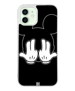 Coque iPhone 12 / 12 Pro – Mickey Jul