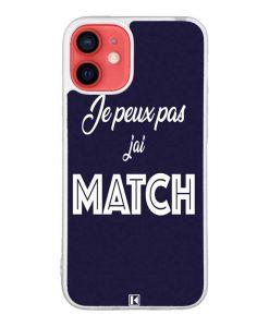 Coque iPhone 12 Mini – Je peux pas j'ai Match