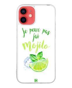 Coque iPhone 12 Mini – Je peux pas j'ai Mojito