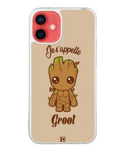 Coque iPhone 12 Mini – Je s'appelle Groot