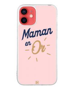 Coque iPhone 12 Mini – Maman en Or