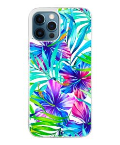Coque iPhone 12 Pro Max – Exotic flowers