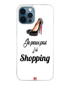 Coque iPhone 12 Pro Max – Je peux pas j'ai Shopping
