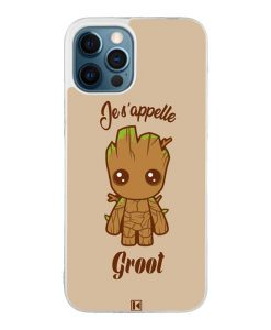 Coque iPhone 12 Pro Max – Je s'appelle Groot