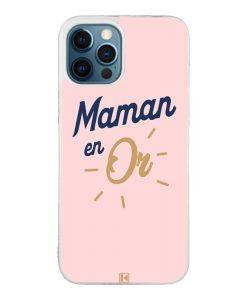 Coque iPhone 12 Pro Max – Maman en Or