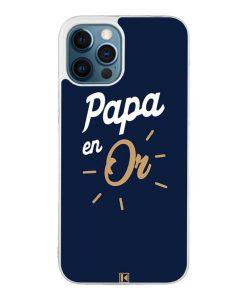 Coque iPhone 12 Pro Max – Papa en Or