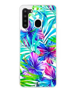 Coque Galaxy A21 – Exotic flowers