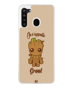 Coque Galaxy A21 – Je s'appelle Groot