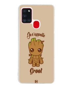 Coque Galaxy A21s – Je s'appelle Groot