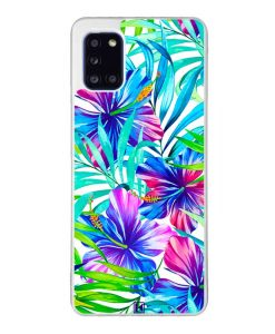 Coque Galaxy A31 – Exotic flowers