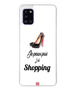 Coque Galaxy A31 – Je peux pas j'ai Shopping