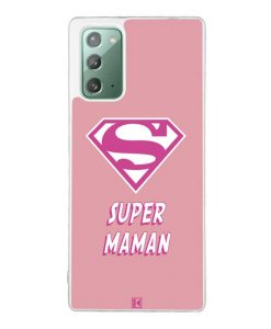 Coque Galaxy Note 20 – Super Maman
