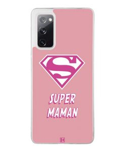 Coque Galaxy S20 FE – Super Maman