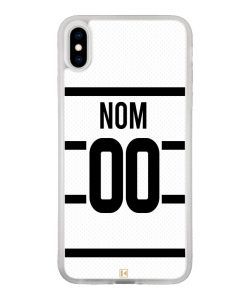 THEKLIPS France Coque iPhone Se - Maillot de Rugby Personnalisable 2020