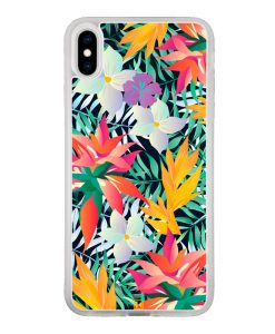 theklips-coque-iphone-x-iphone-xs-max-tropical-flowers